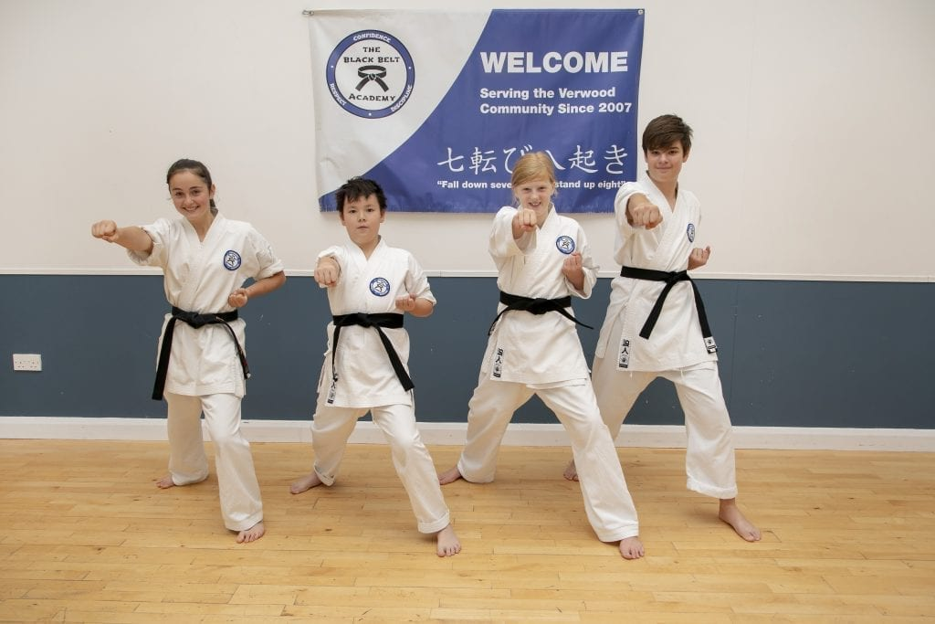 karate class black belt academy verwood